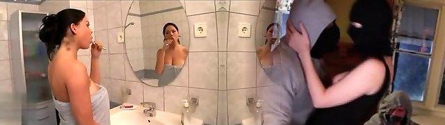 Big boobs in the Bathtub