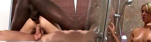 interracial double penetration