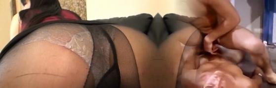 Horny wifey deep penetration