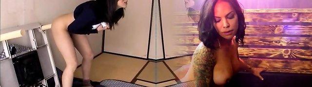 Horny wife Haruka Okoshi fucking herself with dildo