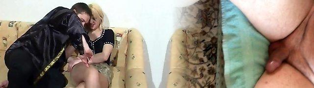 Fedor fuck Eva in tights