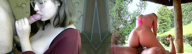 monster boobs hot nerd facial cumshot on web cam glasses teen