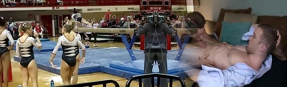 Gymnastics Babe Will Make Your Cock Hard
