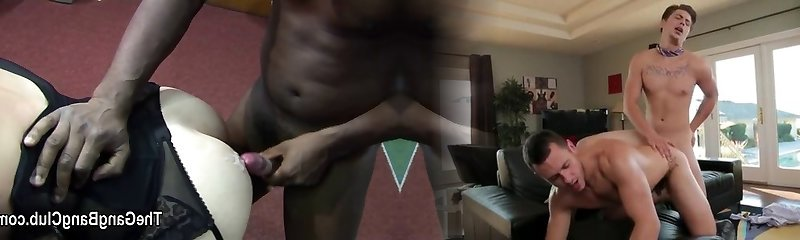 Brief mature and milf are gang fucked