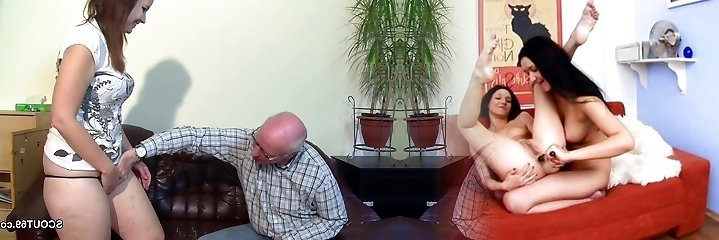 Old Grandfather Seduce not Grand-daughter to First-ever Plumb