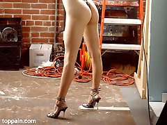 Slavegirl tortured with suction cups