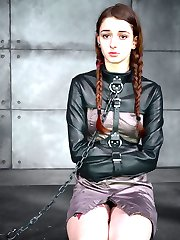 "We asked Willow Hayes: ""Are you ready for some Infernal Restraints?"". She didn't hesitate a second before responding with an enthusiastic, ""Yes, please."" So it is going to be one of those days, where the sweet young girl shows up on our doorstep, asking for an intense BDSM experience and we deliver all that she can handle. Sometimes life is too sweet to describe. We love our jobs."
