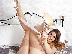 Stella wants to give you a special treat showing you her lovey body adorned with stunning nylons...