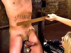 Miss Kingsley is new to SM but makes short work of house slave boy Rico.