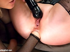 Beautiful women with gorgeous bottoms, Cherry Torn and Syren De Mer get their asses fisted,...