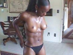 Hot fit Black Girl