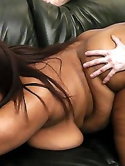 Super chubby young black hottie nailed by her horny hung golf coach