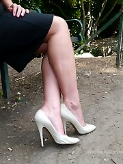 Michelle wears high heels and has her perfect balance and poise no matter how high the heel. Her...