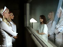 AnnaBelle Lee is submitted to a hospital for being a sex addict. Nurses Lorelei Lee and Ashley...