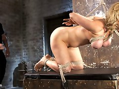 Cherry is a fucking bondage legend, and we have her back at Hogtied.com!! She is one of the...
