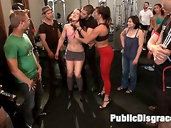 Cheyenne Jewel is one tough babe, but she makes an even better filthy poor-excuse-for-a-gym-rat...