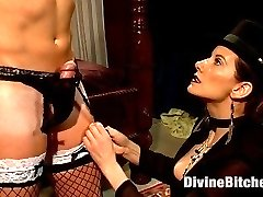This week we have the second installment of a fetish that I personally adore, feminization. I ask you this week to allow me to push your buttons and challenge your manhood stripping you of your entire identity and pushing gender rolls beyond conventional thinking for the sake of getting off! Sean arrives as himself and leaves as Dixie, my new French maid ready to serve anyone and do anything I desire. Dixie learns to be of sexual service to any and all of my friends and if I\'m satisfied Dixie will be able to serve the live action shoot this coming Friday. Being a woman is tough and Dixie learns this the hard way with plenty of cruel whipping and deep deep humiliation dished out by me. I fuck her man pussy deep until her clit stick is engorged and she can\'t help but squirt her juice all over and so much more! This is on sissification transformation you don\'t want to miss!
