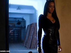 Who better to give Raven her final test then one of our most beloved and tough Dommes, Isis...