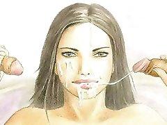 Adriana Lima - Sinful Comics