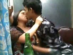 Hot Indian Kiss