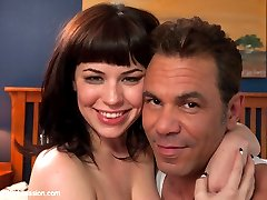 In this fantasy role play, Belle Noire finds herself as a sexual submissive to her stepdad when...