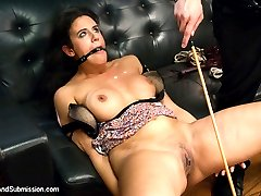 In this BDSM fantasy role play, Dannys mistress Penny tries to sabotage his marriage and gets...