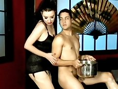 Mistress Anastasia Pierce grooms her malesub to prepare him for his slave training