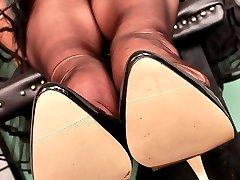 Black sheer Stockings