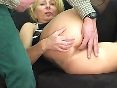 anal with blonde german milf