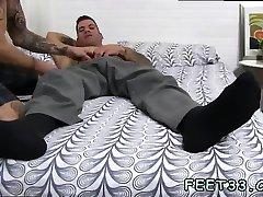 Police men gay sex free download Caleb Gets A Surprise Foot