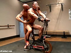 Standing at 64 and over 200 lbs of solid muscle, South African stud Ivan Gregory goes up against...