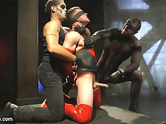 Defeated by The Orgazmatron, our hero Kink Avenger is dragged off to the evil Sado-Spectres...