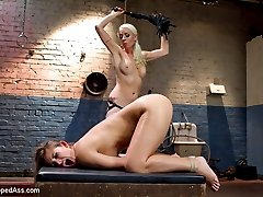 Dani Daniels returns to Whipped Ass for an intense day of lesbian punishment, hardcore lesbian...
