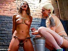 Dani Daniels returns to Whipped Ass for an intense day of lesbian punishment, hardcore lesbian...