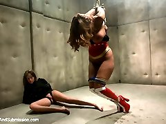 This is a bonus feature update of the super hero test shoot previously posted on Hogtied.com and...