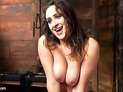 Ashley Adams is an all natural big tit sex addict with a submissive streak that takes her down...