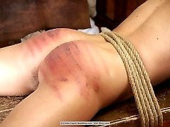 A severe group caning somewhere in the East - Girl 2