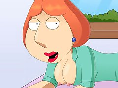Family guy xxx parody