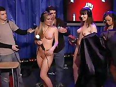 Pornstars Testing A Fucking Machine On Howard Stern