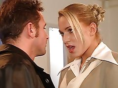 Anal with pretty Silvia Sun in the office