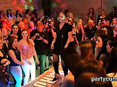 Sexy nymphos get fully foolish and nude at hardcore party