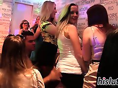 Kinky hardcore party with raunchy babes
