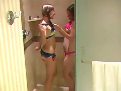 Drippin' wet bikini teens