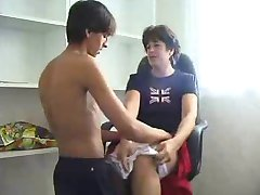 Boy visits friends mom for some fun