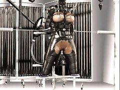 3D Latex BDSM Fantasy!
