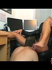 Foot ass domination fetish with Kahti