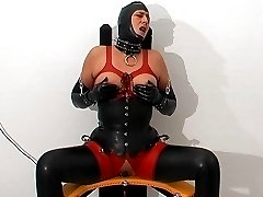 Rubber fucking chair
