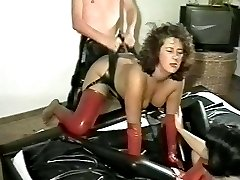 Rubber anal games