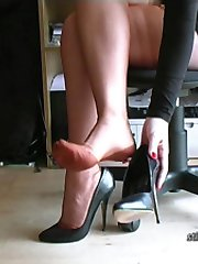 When you have a shoe fetish, the sight of a ladys high heel will stun you! And then as it brings...