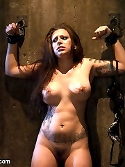 Two slutty girls fantasize getting captured, used as sex objects and fucked in the ass while tied up in bondage.